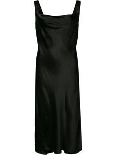 платье с драпировкой Protagonist
