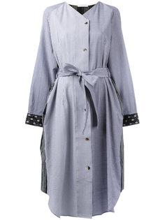 платье-рубашка с поясом J.W.Anderson