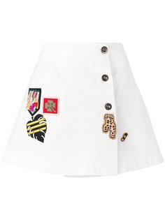 декорированная мини-юбка Mr & Mrs Italy
