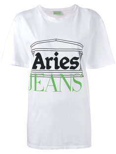 printed T-shirt Aries