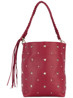 сумка с заклепками в форме звезд Red Valentino