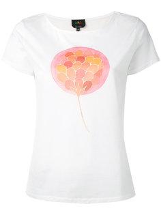 central print T-shirt A.P.C.