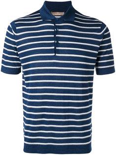 футболка-поло с вышивкой  Cruciani
