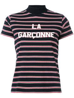 printed stripe T-shirt Harmony Paris