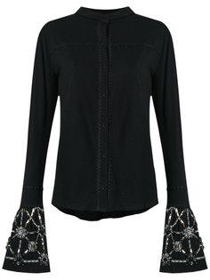 embellished shirt Andrea Bogosian
