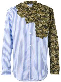 рубашка с комбинированным принтом Comme Des Garçons Shirt