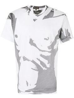 футболка с графическим принтом Comme Des Garçons Homme Plus