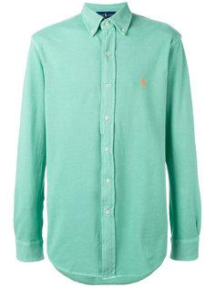 рубашка с вышитым логотипом  Ralph Lauren