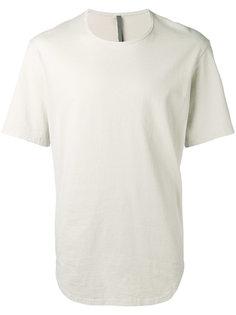 футболка с закругленным подолом Attachment