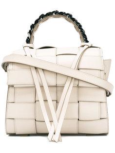 плетеная сумка Elena Ghisellini