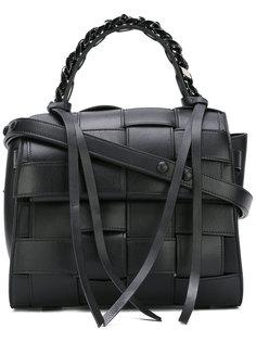 плетеная сумка-тоут Elena Ghisellini