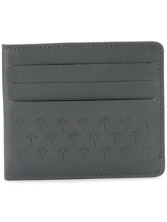 palm tress embossed cardholder Tomas Maier