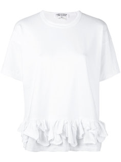 ruffle detail T-shirt Comme Des Garçons Comme Des Garçons