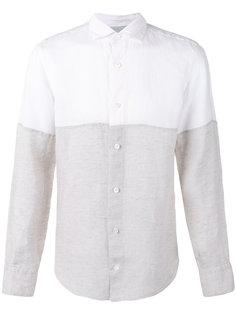 двухцветная рубашка Eleventy
