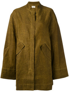 flap pocket coat Simon Miller