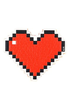 стикер в виде сердца Anya Hindmarch