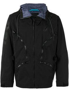 куртка с капюшоном  и отделкой молниями Diesel