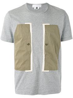 colour block T-shirt Ganryu Comme Des Garcons