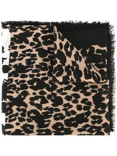 шарф с леопардовым рисунком Marc Jacobs
