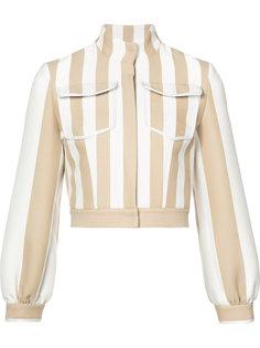 куртка в полоску Fendi