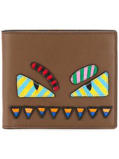 кошелек с нашивками Fendi