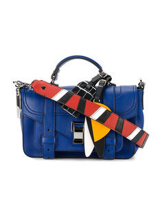 "сумка с ремнем в стиле ""пэчворк"" Proenza Schouler"