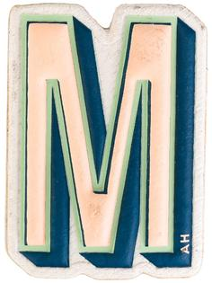 стикер M Anya Hindmarch