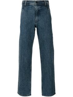 джинсы с карманами на пуговицах A.P.C.