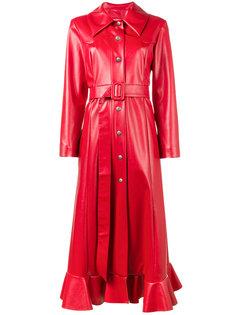 пальто из искусственной кожи A.W.A.K.E. Awake