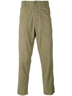 укороченные прямые брюки Ganryu Comme Des Garcons