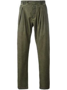 брюки Yoke с плиссировкой Al Duca D'Aosta 1902