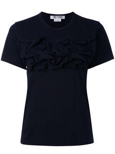 ruffled T-shirt Comme Des Garçons Comme Des Garçons