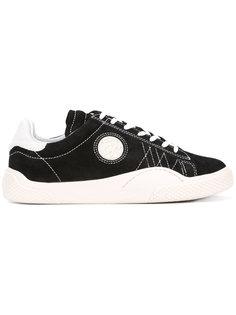 кроссовки с контрастной вышивкой Eytys