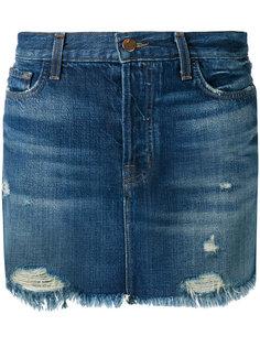 джинсовая юбка Bonny  J Brand