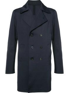 double breasted coat Harris Wharf London