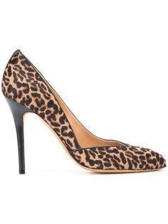 leopard print pumps Alexa Wagner