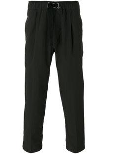 плиссированные укороченные брюки Diesel