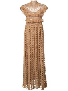 вязанное платье с высоким горлом Ryan Roche