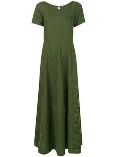 расклешенное платье с короткими рукавами Aspesi