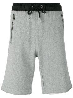 спортивные шорты с карманами на молнии Diesel