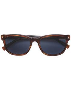 солнцезащитные очки с квадратной оправой Ermenegildo Zegna