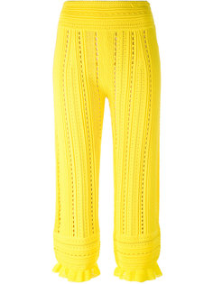 брюки с ажурной отделкой 3.1 Phillip Lim