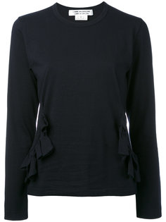 блузка с рюшами Comme Des Garçons Comme Des Garçons