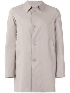 однобортная куртка Herno