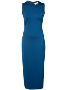 приталенное платье-миди Victoria Beckham