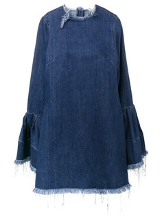 платье с необработанными концами Marquesalmeida