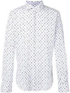 рубашка с цветочным принтом  Glanshirt
