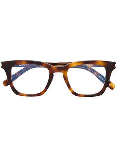 очки с квадратной оправой Saint Laurent