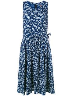 floral print dress Blue Blue Japan