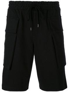 шорты с накладными карманами Odeur